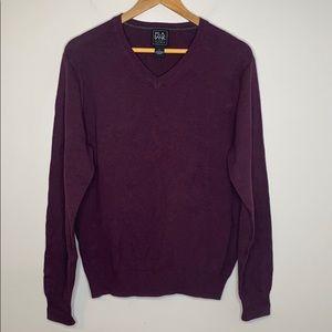 Jos. A. Bank Traveler v-neck sweater - medium